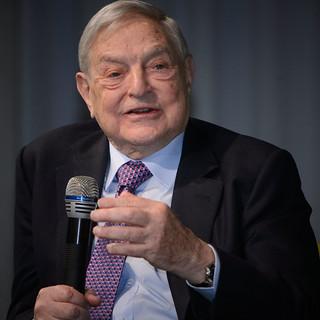 George Soros   by boellstiftung