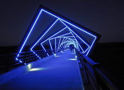 High Trestle Trail art bridge, Madrid, Iowa