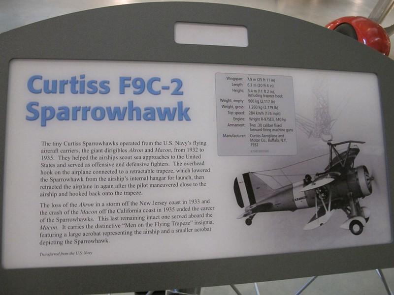 Curtiss F9C-2 Sparrowhawk 2