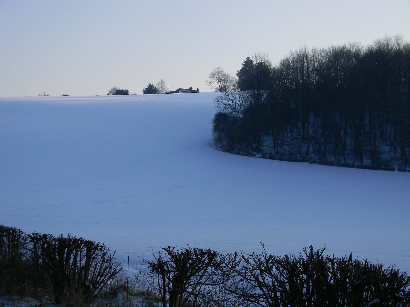 White expanse Saunderton to Bledlow