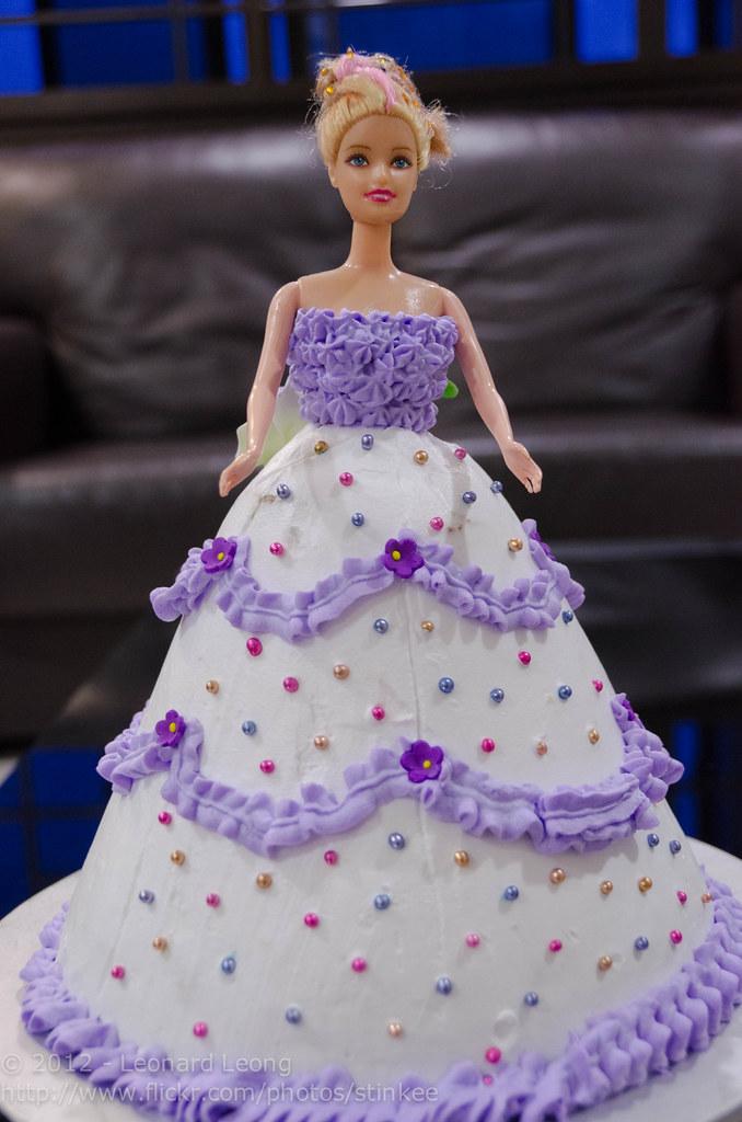 Erin S Barbie Doll Birthday Cake Stinkee Beek Flickr
