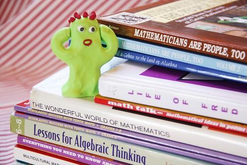 AFraid of math   by jimmiehomeschoolmom