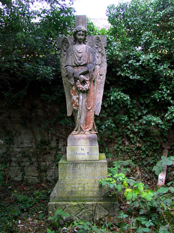 an angel for Albert Kimpton