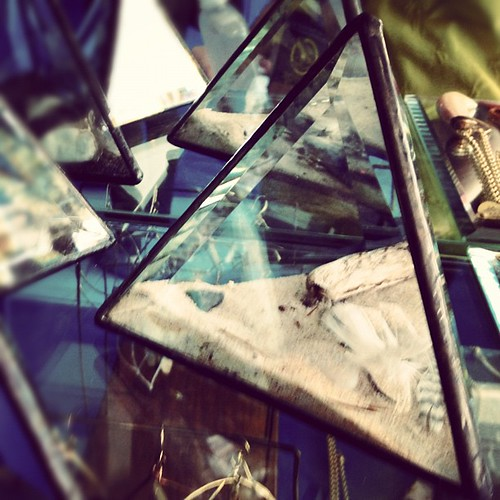 """welded glass """"curiosity"""" prisms. so great! can I make one of these? tough. 
