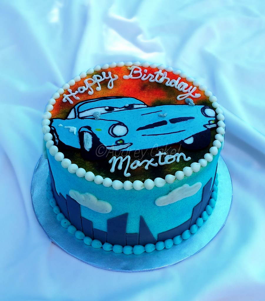 finn mcmissile cars 2 birthday cake  a favorite character