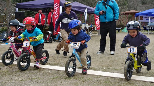 Mitsugi runbike race 3 yrs final start | by @WorkCycles