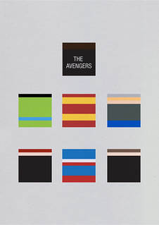 The Avengers minimalist poster