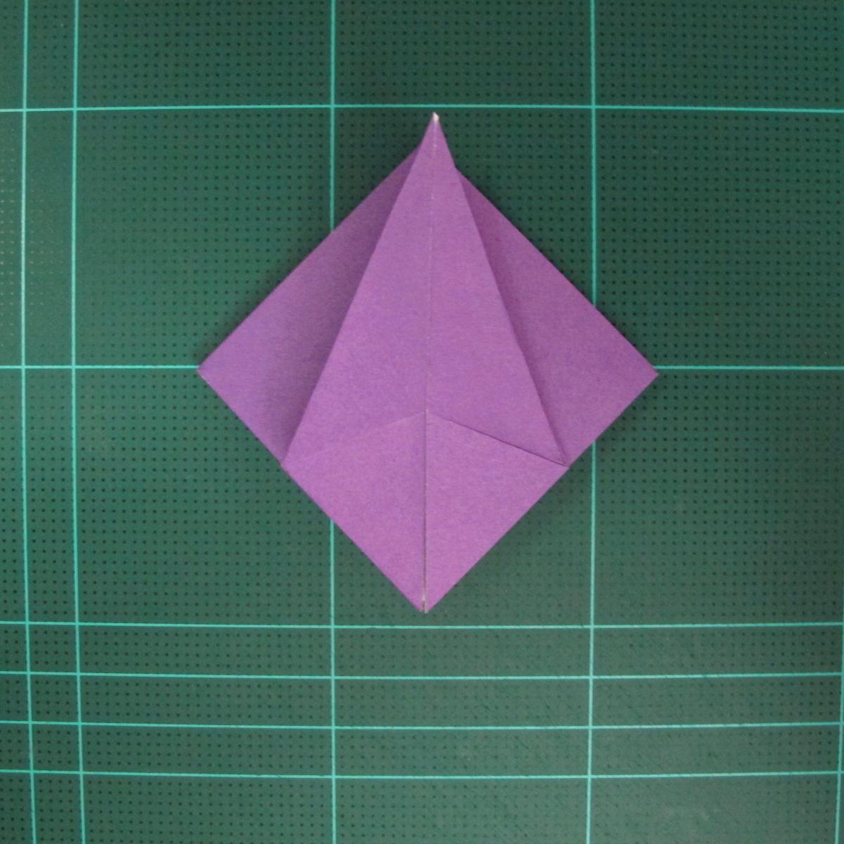 การพับกระดาษเป็นฐานนกอินทรี (Origami Eagle) 021