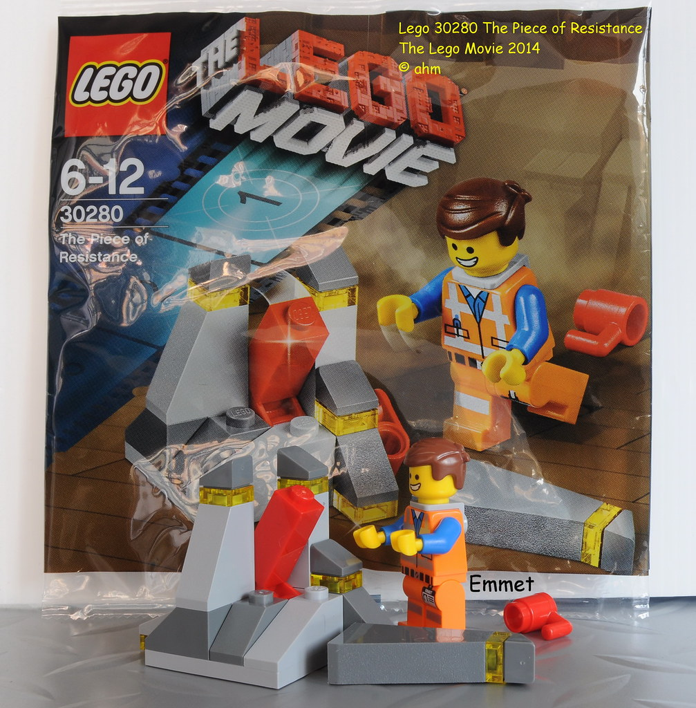 LEGO The Movie The Piece of Resistance 30280 NEW