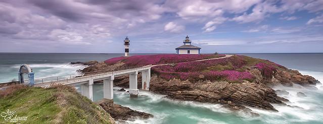 Isla Pancha - Ribadeo  (Serie de 5 panoramicas)