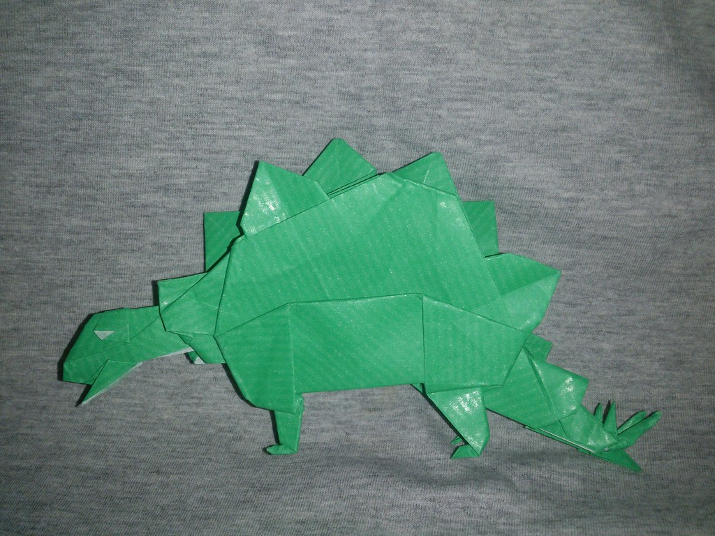 Origami Dinosaurs, a list of online, origami-dinosaur diagrams ... | 768x1024