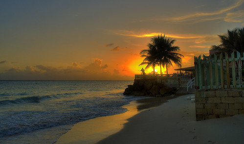 Follow my Footstep to the Sunset. Barbados | by Ben124.