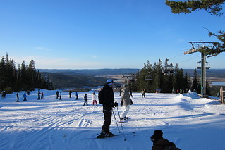The top of the slope in Romme | by blacksapphire