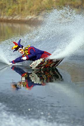 The Joker's Wild. FREE water ski photos with Tony Klarich | by WaterHound