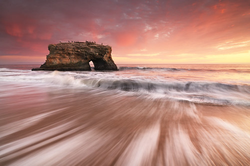 california longexposure sunset santacruz beach waves naturalbridgesstatebeach leefilters seascapephotography oceanphotos coastalphotography joshuacripps nikond300s acratechballhead