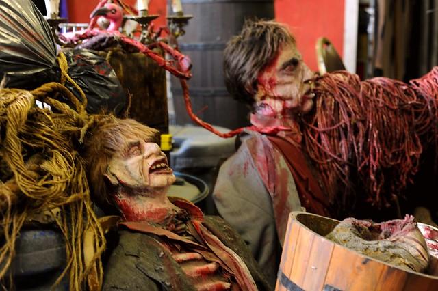 Halloween Haunt Props at Knott's Berry Farm