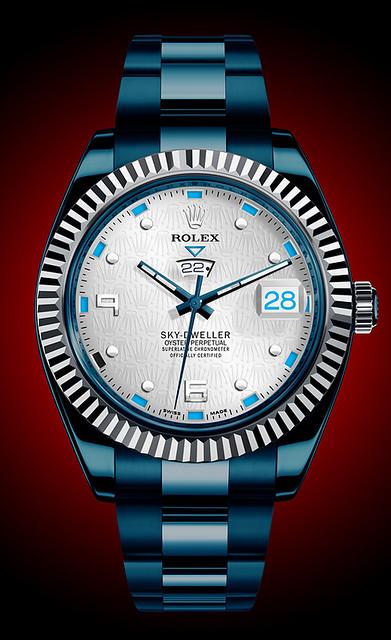Rolex Sky-Dweller - Blue