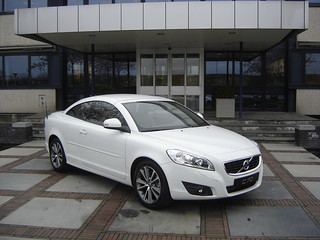 Beesd 2012 Volvo C70 A Volvo C70 Cabriolet Parked Outside Flickr