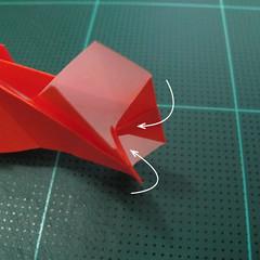 การพับกระดาษเป็นรูปปลาทอง (Origami Goldfish) 024
