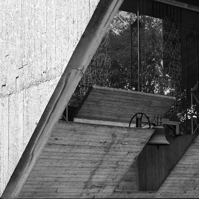 IMG_3403bw Brutalist chapel by Juliaan Lampens