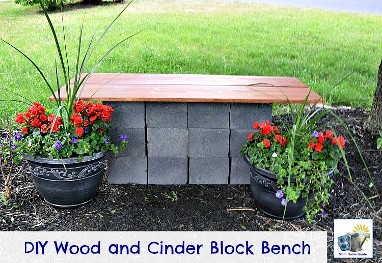 Tremendous Easy Diy Cinder Block Bench Mom Home Guide Carrie A Flickr Creativecarmelina Interior Chair Design Creativecarmelinacom