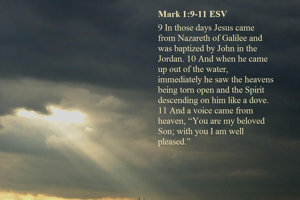 Gospel reading 1st Sun  of Lent Mark 1:9-15 | Mark 1:9-15 ES