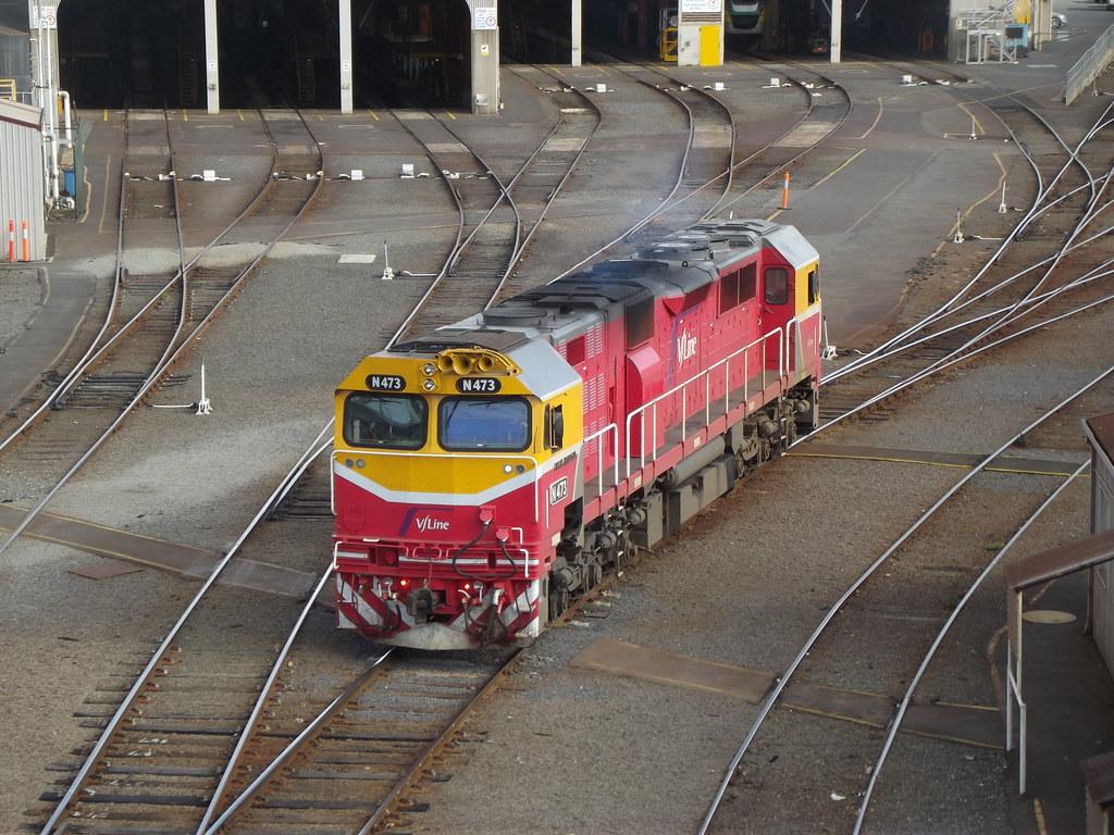 V/Line Passenger Victoria Australia by Dave Brown