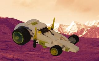XT-13 Intergalatic patrol vehicle