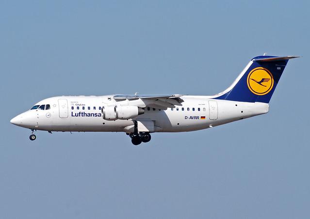 Lufthansa Cityline BAe 146 RJ85 D-AVRR