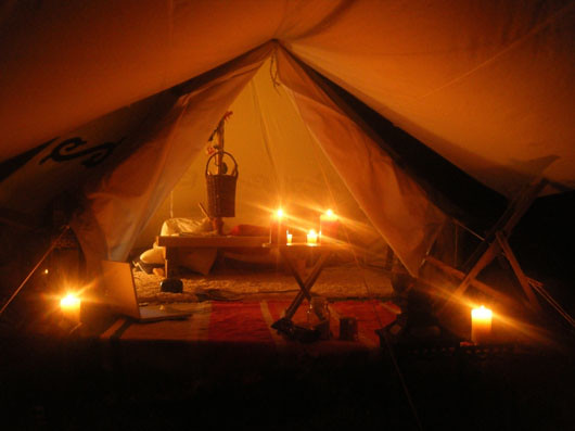 glamping romantic sleeping in tent charming candles   Flickr