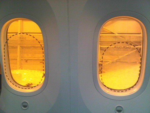 The 787 Dreamliner windows vs. the competition | by The Boeing Company