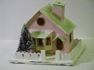 Putz house | by christmasnotebook