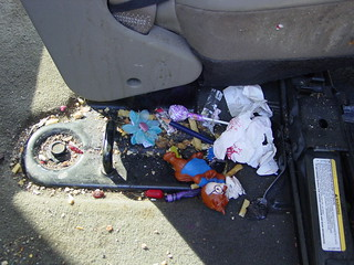 Kids' Garbage Under the Car Seats | by TireZoo