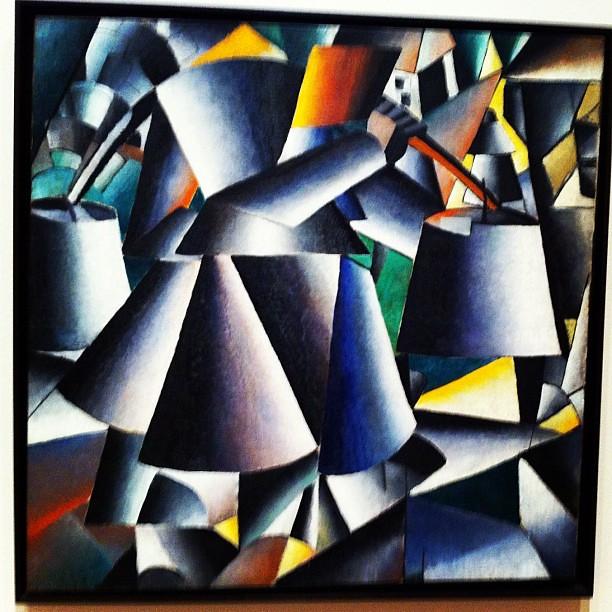 Kazimir Malevich - women with pails