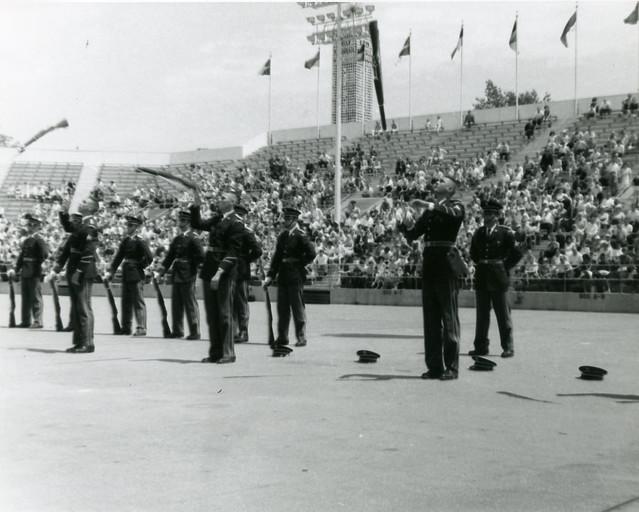1964-Worlds Fair-US Army Drill Team-2