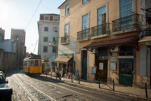 Lisbon in 2D   by Alexander Savin