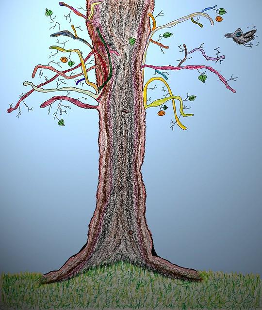 Tree & Crow