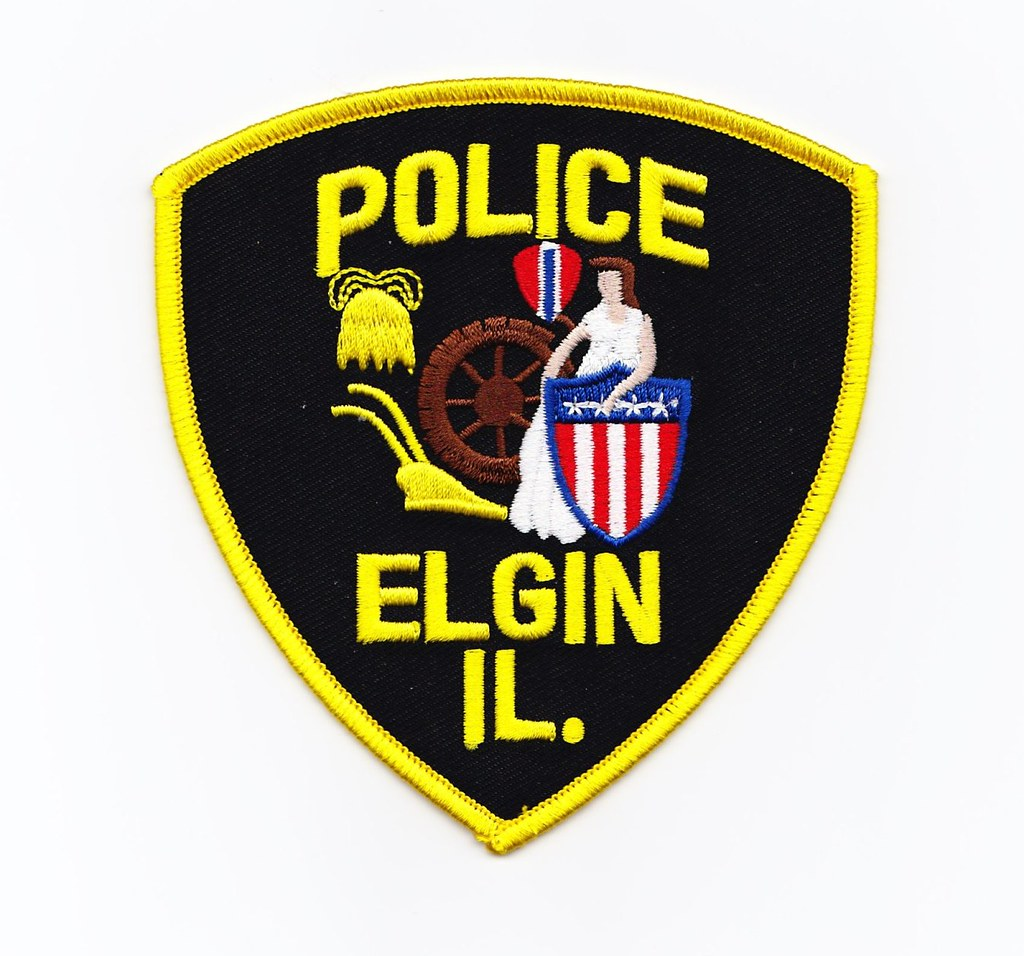 IL - Elgin Police Department   Patch for Waubonsee Community