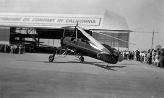 AL218-071 Pitcairn PCA-2 cn B-7 NC10761 before crash Alameda 1931 | by San Diego Air & Space Museum Archives