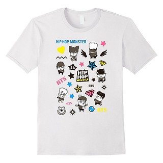 BTS Bangtan boys hiphop monster kpop T-shirt amazon us $1