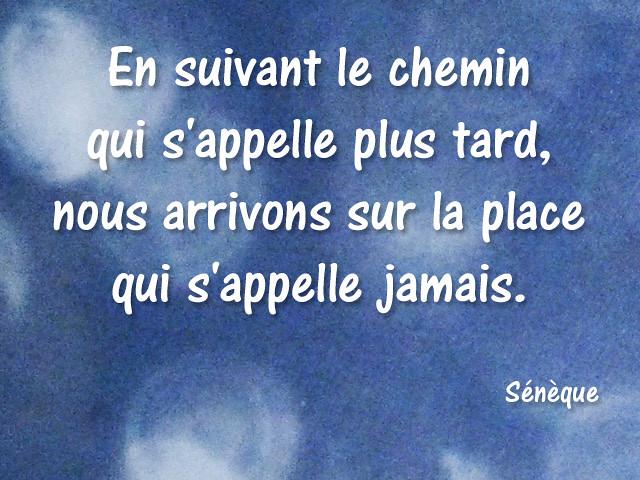 Citation Seneque 01 En Suivant Le Chemin Qui S Appelle Plu