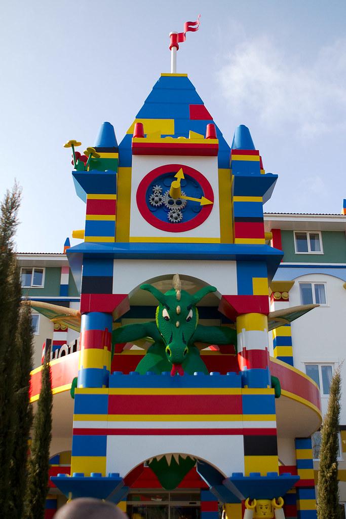 Legoland Hotel, Windsor   The entrance to the new Legoland ...