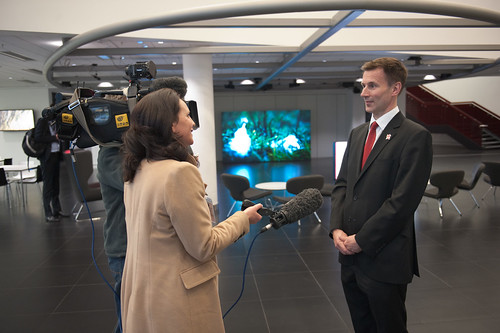 Jeremy Hunt UoS MediaCityUK 4 | by University of Salford