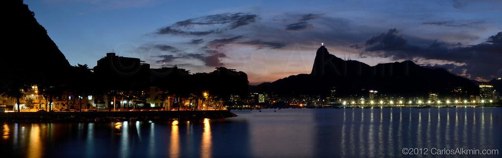 Rio skyline from Urca