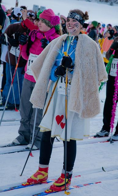 Skiers at the 2012 Alaska Ski for Women