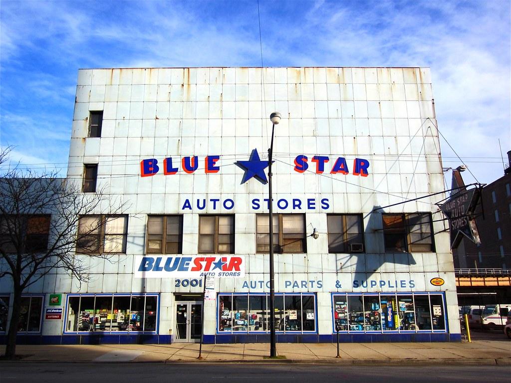 Star Auto Parts >> Blue Star Auto Stores Originally Built 1878 2001 South S Flickr