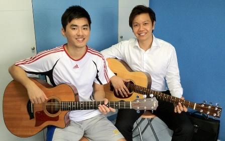 Beginner guitar lessons Singapore Eugene