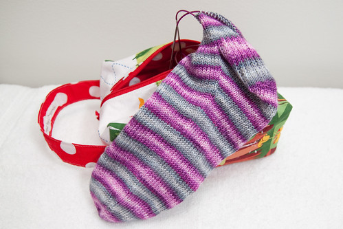 Bonnie & Clyde Stripey Socks | by mslindz