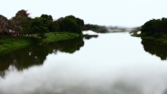 Thailand, on the river, effect   ,  1