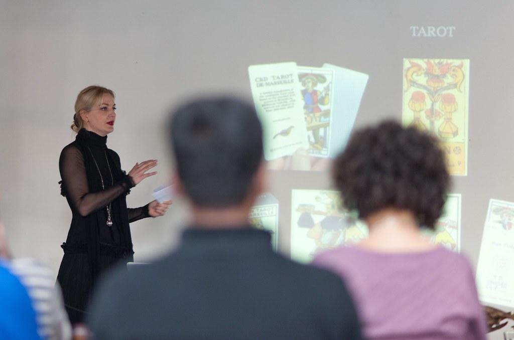 Paola digging deep into Tarot history
